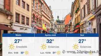 Météo Mulhouse: Prévisions du samedi 8 août 2020 - 20minutes.fr