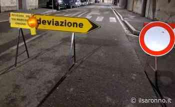 Fase 3, a Cogliate terminata l'asfaltatura della malconcia via Milano - ilSaronno