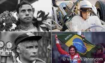 Clark, Brabham, Lauda, Senna: 70 years of Formula One remembered