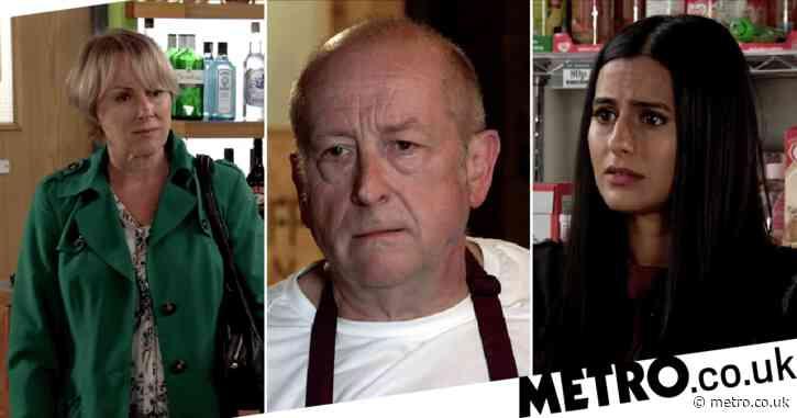 Coronation Street spoilers: Geoff Metcalfe beaten as Alya Nazir and Sally take revenge