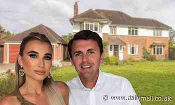 Billie Faiers and Greg end feud with neighbours over plans to turn £1.4m mansion into dream home