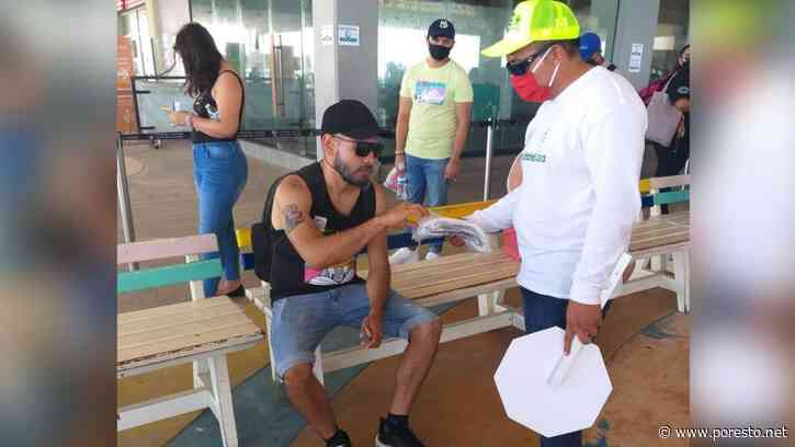 Retiran filtro sanitario del Muelle Navega en Playa del Carmen - PorEsto