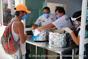 Entregan Comedores Solidarios en Playa del Carmen más de 120 mil comidas durante la pandemia - Palco Quintanarroense