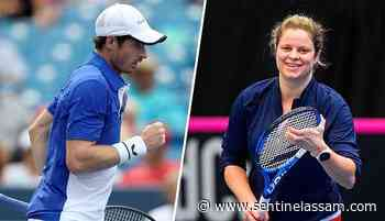 Kim Clijsters, Andy Murray get wild cards in 2020 US Open - Sentinelassam - The Sentinel Assam