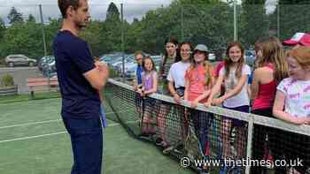 Look who's dropped in: Andy Murray's surprise visit to Dunblane club is a winner - The Times