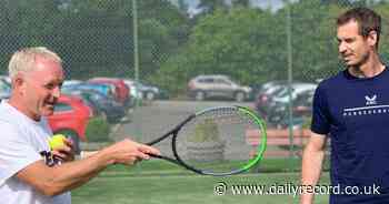 Andy Murray swings by Dunblane for impromptu tennis coaching session with kids - Daily Record