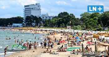 Keine Tagestouristen: Viel Zuspruch für Timmendorfer Strand - Lübecker Nachrichten