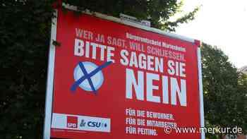 Peiting: Marienheim: Plakat-Botschaften von CSU und SPD verärgern Neubau-Gegner - Merkur.de
