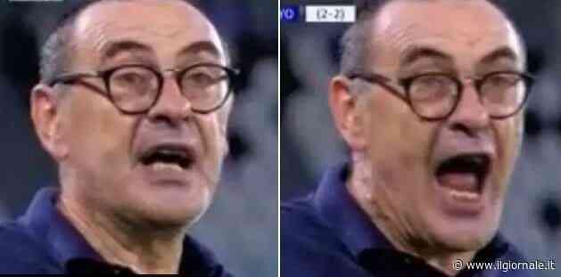 """""""It's a shame!!"""": la frase di Sarri  che rivela tutta la rabbia Juventus"""