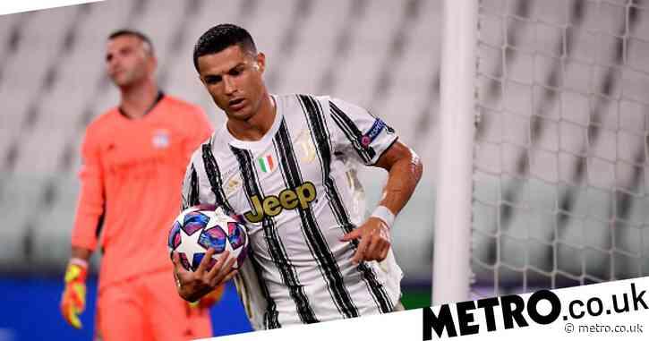 Cristiano Ronaldo broke Juventus record during Champions League defeat against Lyon