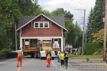 PHOTOS: Moving day for 110-year-old Fraser Valley heritage house - Hope Standard