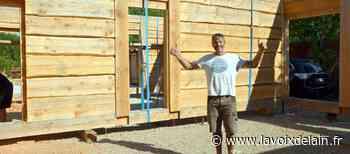 Château-Gaillard - Dix mois pour réaliser sa 1re maison en bois brut - La Voix de l'Ain
