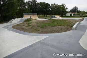 Sport et loisirs : ouverture de la nouvelle aire de glisse à Challans - Vendée Info