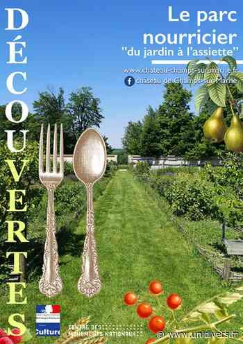Visite du parc nourricier »Du jardin à l'assiette » Champs-sur-Marne - Unidivers