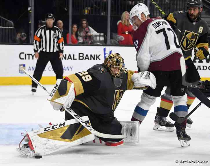 Blackhawks: Golden Knights vs Avalanche determines opponent