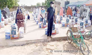 Over 20,000 Yobe vulnerable households get COVID-19 palliatives - Daily Trust