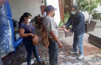 Apoya regidor Juan Camacho en filtro sanitario de oficinas municipales - Rotativo de Querétaro