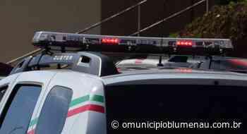 Após denúncia, dois homens são presos por furto de motocicleta, em Indaial - O Município Blumenau