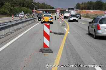 Unfall im Baustellenbereich auf der A6: Polizei sucht Zeugen - Wochenblatt-Reporter