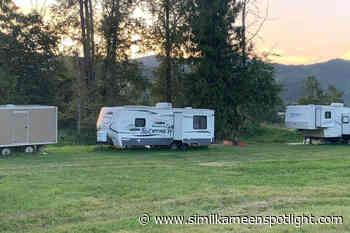 Vandals target North Okanagan camper – Princeton Similkameen Spotlight - Similkameen Spotlight