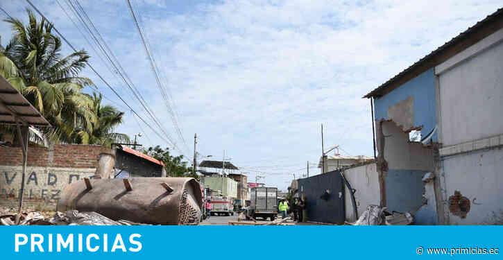 Sube a tres la cifra de muertos por la explosión en Manta - Primicias