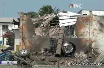 Explosión en fábrica atunera dejó a dos fallecidos en Manta - tvc.com.ec
