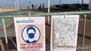 Port du masque à Hardelot et Wimereux, les promeneurs sont partagés sur la mesure - La Voix du Nord