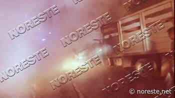 Chofer muere calcinado en choque contra un tráiler, en Paso de Ovejas - NORESTE