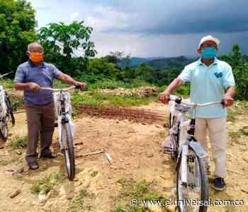 Campesinos de Chengue (Ovejas) reciben bicicletas | EL UNIVERSAL - Cartagena - El Universal - Colombia
