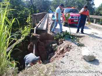 En la comunidad San Gabriel, caída de árboles y rocas sobre las carreteras, interrumpe la circulación de automovilistas - Diario El Mundo de Córdoba