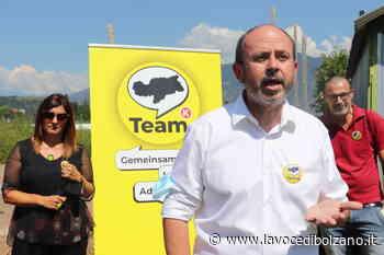 Comunali: è Alessandro Zuech il candidato sindaco per Laives del Team Koellensperger - La Voce di Bolzano