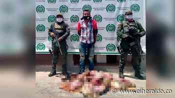 Capturan a un hombre con tres tortugas descuartizadas en Maicao - EL HERALDO