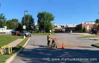Road work at Bracebridge hospital - My Muskoka Now