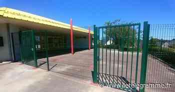 À Auray, une clôture anti-squat installée à l'entrée de l'école Rollo - Le Télégramme