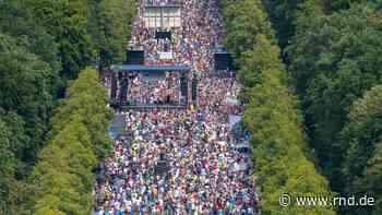Corona-Demo in Berlin: Hat die Polizei die Teilnehmerzahl kleingeredet? CDU-Politiker Fischer verteidigt Vaatz - RND