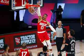 Los Angeles Lakers vs. Houston Rockets FREE LIVE STREAM (8/6/20): Watch NBA restart online | Time, TV, channel - NJ.com