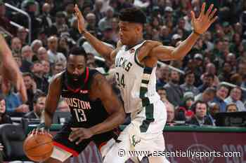 """""""They Don't Talk Any Trash"""": Houston Rockets Teammate Talks About James Harden And Giannis Antetokounmpo's Beef - Essentially Sports"""
