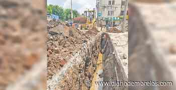 Mejoran red de agua en La Rosa, de Jiutepec - Diario de Morelos