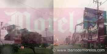 Reportan en Jiutepec múltiples daños por lluvias; caen 2 espectaculares - Diario de Morelos