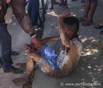 Menor é espancado durante tentativa de assalto em Timon - Portal O Dia