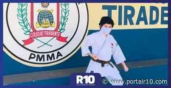 Aluno do Colégio Militar Tiradentes V/Timon é campeão de Karatê em GO - Portal R10