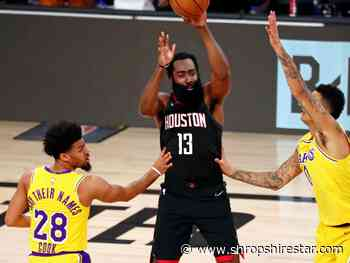 James Harden fires Houston Rockets to victory over Los Angeles Lakers - shropshirestar.com
