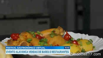 Mateus Leme (MG) faz festival gastronômico com vendas online - HORA 7