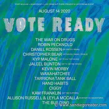 Can You Escape?, Vote Ready Concert, I Love a Clean San Diego