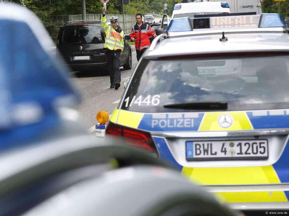 Verkehrsunfall auf der Landesstraße zwischen Winnenden und Affalterbach: Zur Unfallaufnahme war diese teilweise gesperrt - Zeitungsverlag Waiblingen