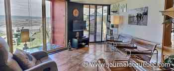 Bord de la mer à Sainte-Luce: chalet quatre saisons à l'architecture unique pour 184 000$