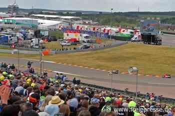 Grand Prix gibt's am Sachsenring diesmal per Videowand - Freie Presse