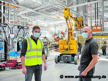 265 Baustellen im Emder VW-Werk - Emden - Emder Zeitung - Emder Zeitung