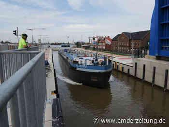 Nesserlander Schleuse ist für viele Seeschiffe tabu - Emden - Emder Zeitung - Emder Zeitung