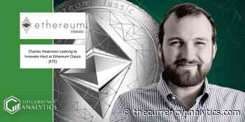 Charles Hoskinson Looking to Innovate Hard at Ethereum Classic (ETC) - The Cryptocurrency Analytics